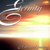 based on the original Eternity CD cover art, sunrise, title, sub-title 'A musical Journey', revised artwork is used now