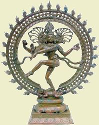Shri Shiva as Nataraja, the Cosmic Dancer